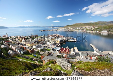 Hammerfest town #37366399