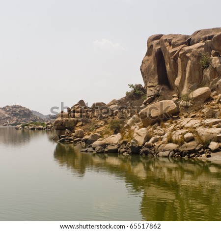 Hampi Lake, India