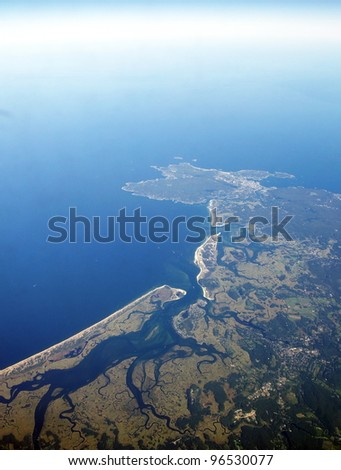 Hampton Beach from above