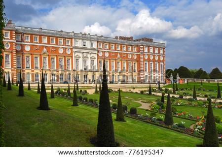 Hampton Court Gardens, London, UK