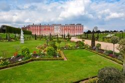 Hampton Court palace in spring, London, UK