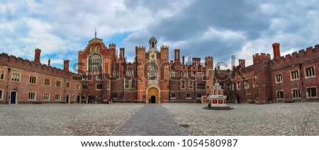 Hampton Court Palace, Richmond, London, UK