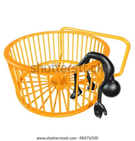 UN PETIT RAPPEL : Ne pas oublier de respecter le Règlement du Forum, S.V.P. Stock-photo-hamster-wheel-runner-concept-48476500