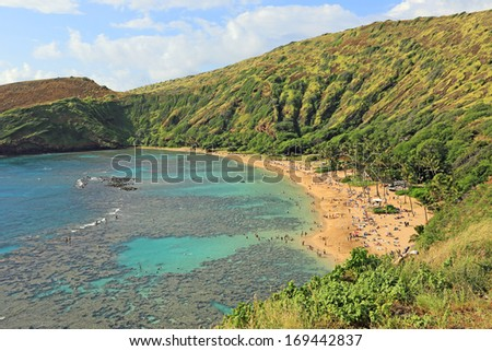Hanauma Bay Beach - Oahu, Hawaii
