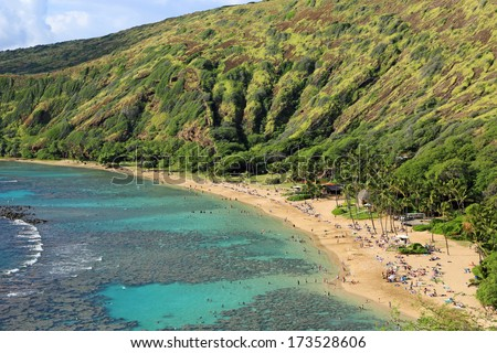 Hanauma Bay Beach, Oahu, Hawaii
