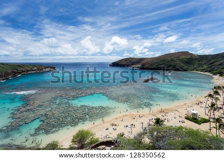 Hanauma bay, Snorkeling paradise in Hawaii
