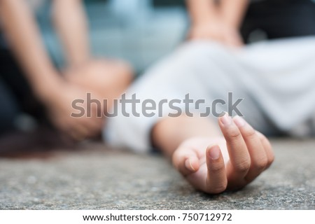 hand,Accident victims