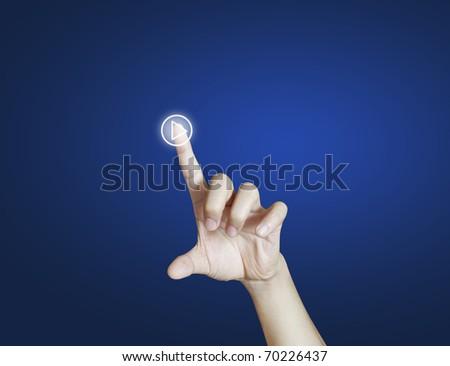 hand button