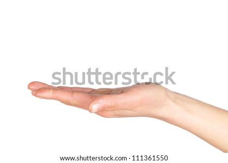 Hand care - stock photo