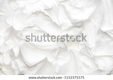 hand cream. cream texture. ストックフォト ©