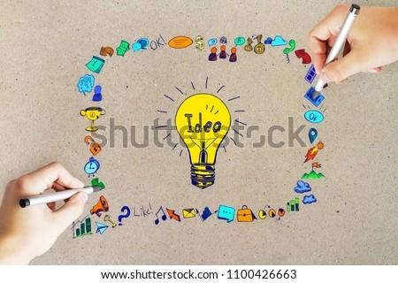 Free Photos Draw Innovative Ideas Avopix Com