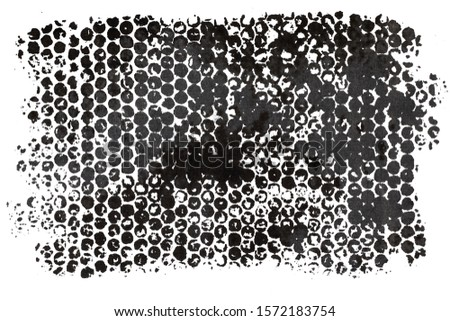 Hand drawn black dots texture background #1572183754