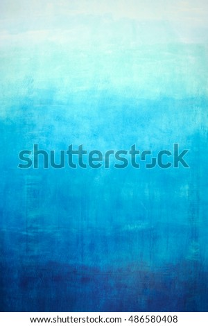 Hand drawn blue gradient background on wall #486580408