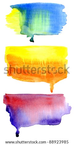 hand drawn watercolor background, for backgrounds or textures