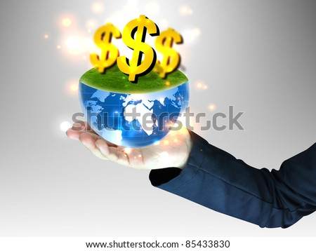 Hand exchange money