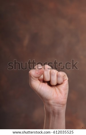 Hand -fist Stok fotoğraf ©