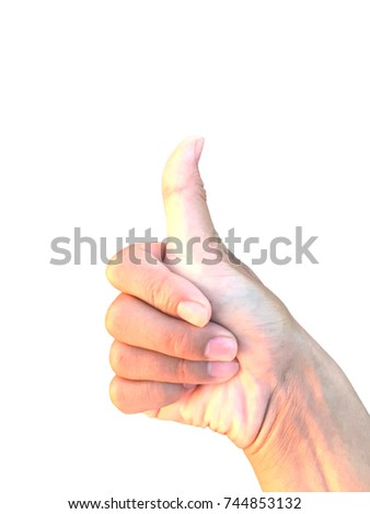 hand,Hand sign,Hand made sign,White background,Hit the mark,Show favorite #744853132