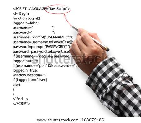 Hand Highlighting Website Java Script