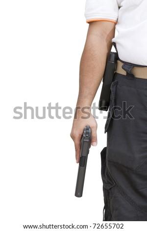 Hand hold guns