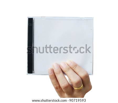 Hand Holding Cd Cover Stock Photo 90719593 : Shutterstock