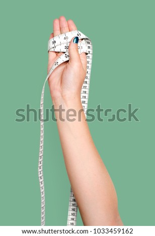 Hand holding variation of object #1033459162
