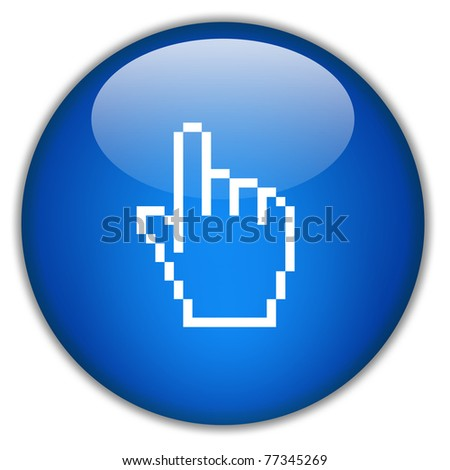 Hand icon, click here