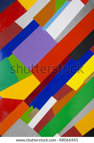 Hand  made  abstract suprematic background