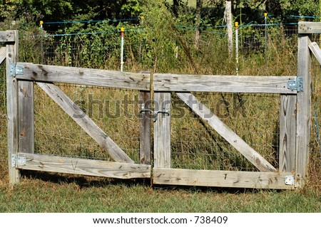 Ranch Driveway Gates, Estate Gate, Wooden Fence Gates, Ranch Entrances