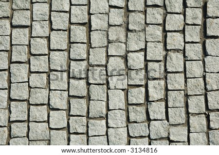 hand-made pavement texture background