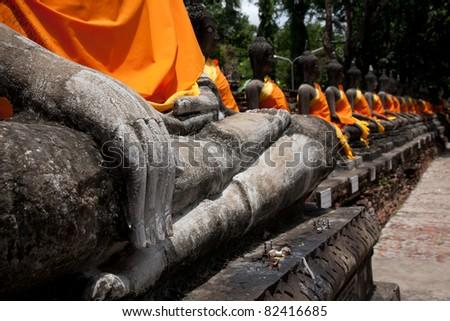 hand of Buddha Sculpture