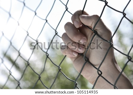 Hand of fence