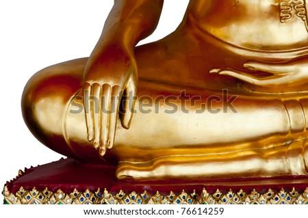 Hand of God  Wonderful hand of Buddha statue