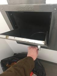 Hand Opening Trash Chute