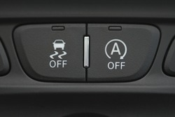 Hand operating ESP (electronic stability program) control and start stop control