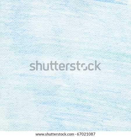 Hand painted background blue