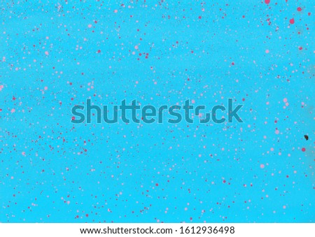 Hand painted splattered texture vibrant background, wallpaper with splatters