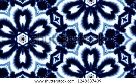 hand painted watercolor tie dye seamless pattern design for textile and wallpaper