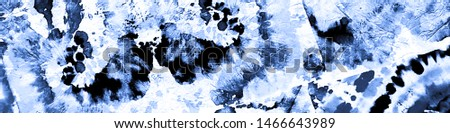 Hand Painting Texture. Dirty Art Aquarelle Background.  Vintage  Patchwork Painting. Indigo Patchwork Texture. Abstract Tie-Dye Artwork. Watercolour Hand Painting Texture.
