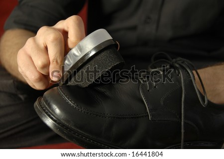 Hand Polish - stock photo