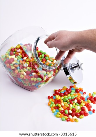 jar of jelly beans clip art. of colorful jelly beans
