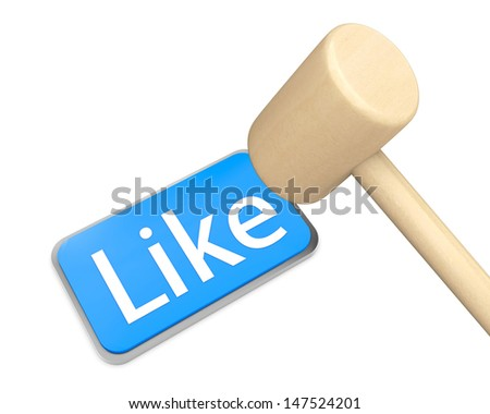 Hand Shaped mouse Cursor thumb up like man share good social media share 3d symbol icon button