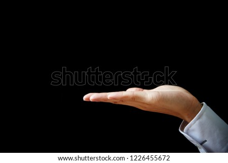 Hand sign background  #1226455672