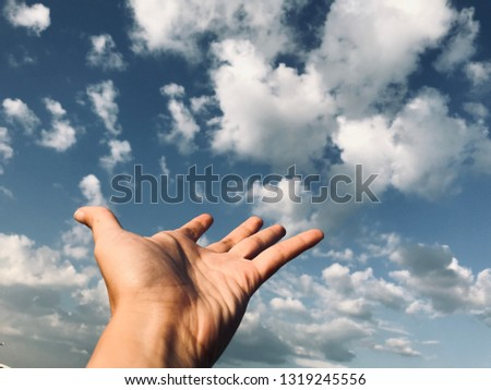 Hand sign background  #1319245556