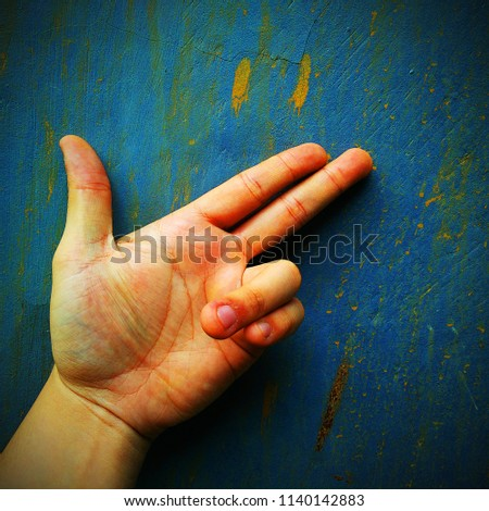 hand sign weapon #1140142883