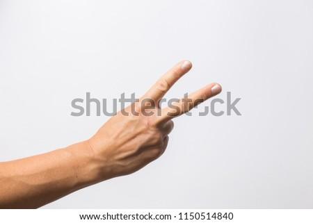 hand signs high key #1150514840
