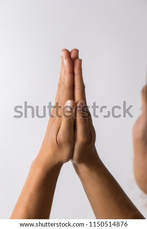 hand signs high key #1150514876