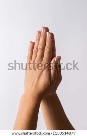 hand signs high key #1150514879
