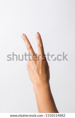 hand signs high key #1150514882