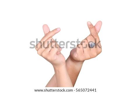 Free Photos Finger Hand Symbols I Love You Fingers Isolated On White