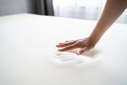 Hand Testing Orthopedic Memory Foam Core Mattress